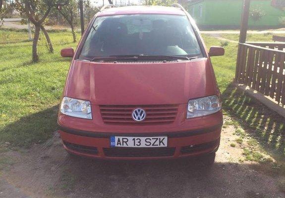 Volkswagen Sharan Benzina 2002