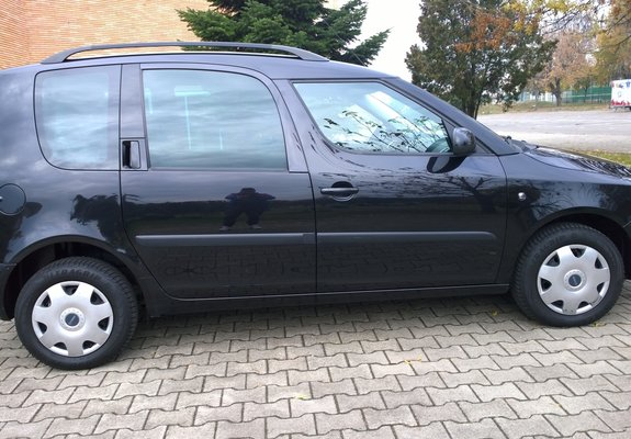 Skoda Roomster 2010 climatronic
