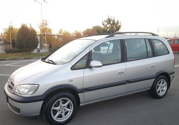 Opel Zafira  7 locuri..2004