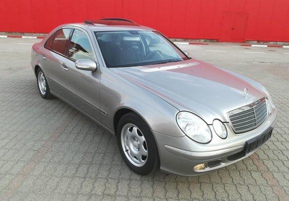 Mercedes-Benz E 200  Kompresor motor