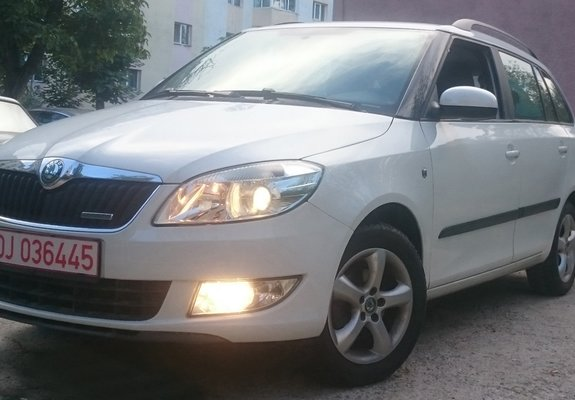 Skoda Fabia Diesel 2012